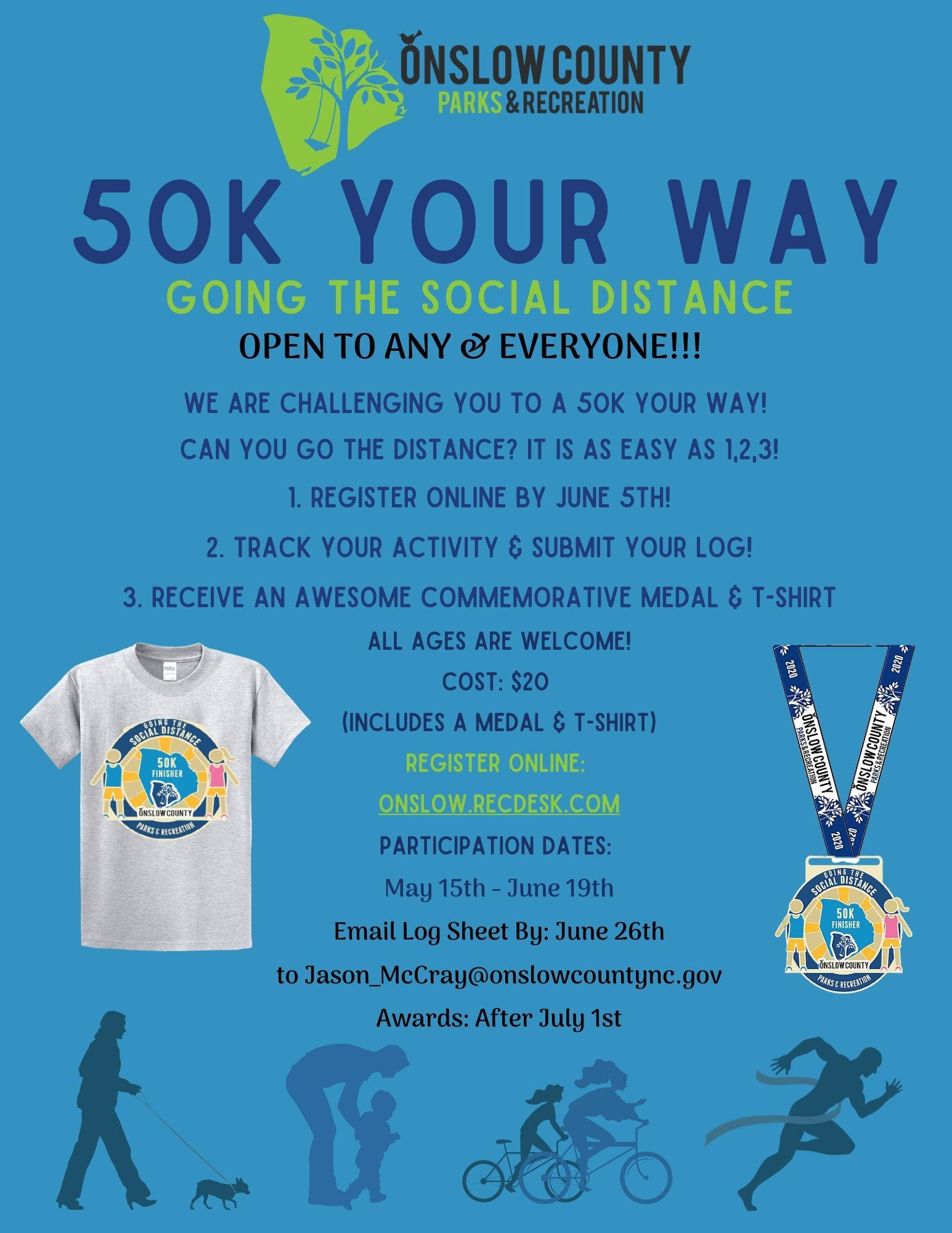 50K Your Way Flyer