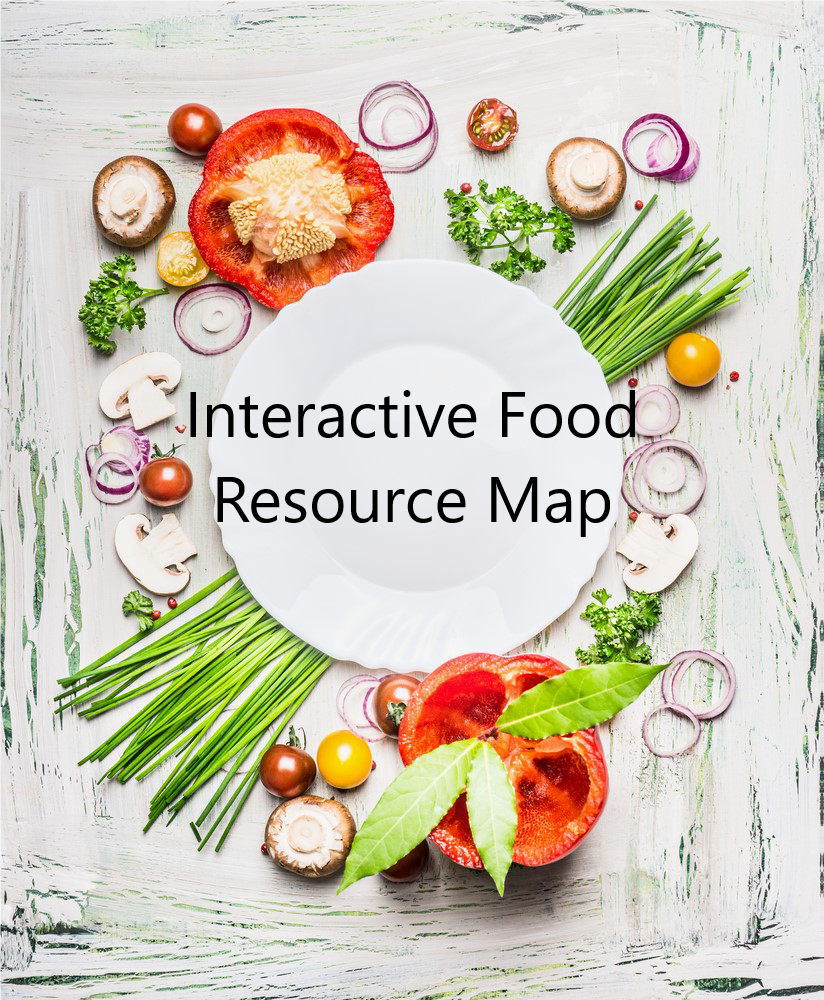 food resource map graphic